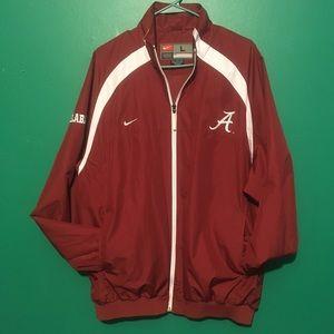 Nike Alabama Jacket Large full zip